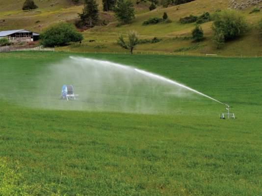 Concimare col rotolone facile e conveniente for Irrigazione per aspersione
