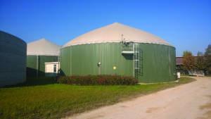 L'impianto per la produzione di biogas