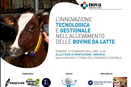 Convegno sull'innovazione nella stalla da latte, Montichiari 19 febbraio 2016 / Le relazioni