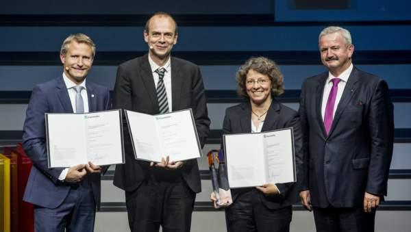 La premiazione di Francoforte