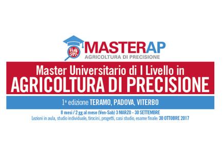 Master Universitario di I livello in AGRICOLTURA DI PRECISIONE