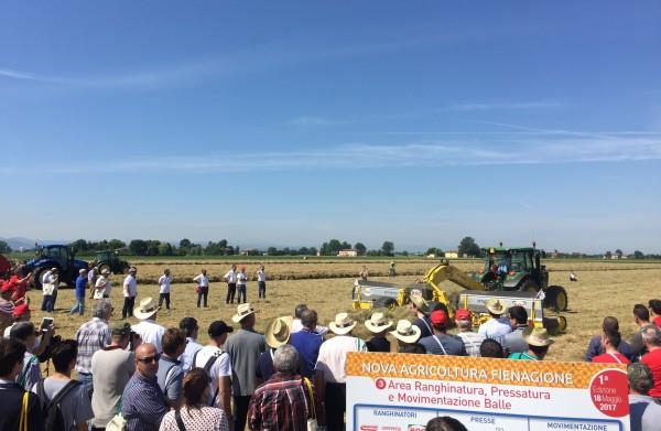 Nova Agricoltura in Fienagione: i video delle prove in campo